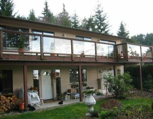 Main Photo: 1569 WHITE SAILS DR: Bowen Island House for sale : MLS® # V514830