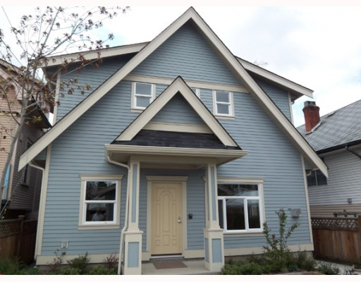 Main Photo: 4048 BEATRICE Street in Vancouver: Victoria VE House 1/2 Duplex for sale (Vancouver East)  : MLS(r) # V763679