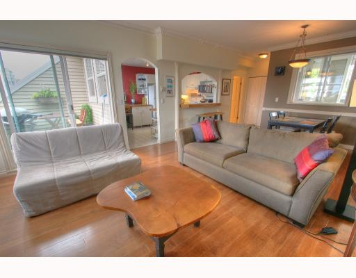"Photo 3: 404 2588 ALDER Street in Vancouver: Fairview VW Condo for sale in ""Bollert Place"" (Vancouver West)  : MLS® # V781222"