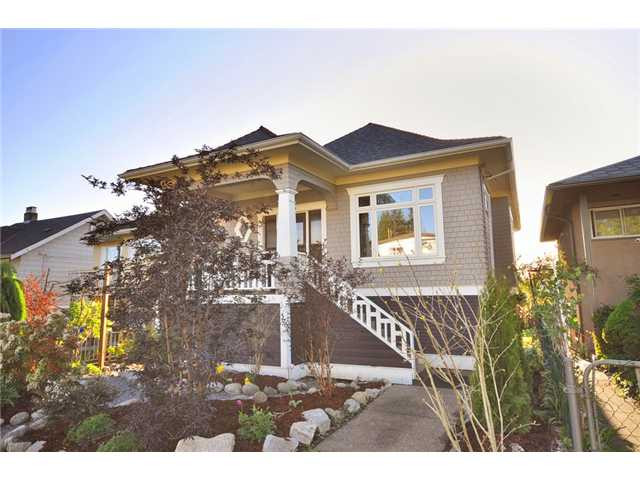 Main Photo: 4519 HARRIET Street in Vancouver: Fraser VE House for sale (Vancouver East)  : MLS®# V824505
