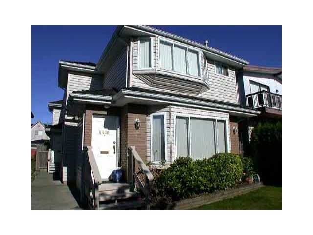 Main Photo: 8419 OSLER Street in Vancouver: Marpole House 1/2 Duplex for sale (Vancouver West)  : MLS® # V841839