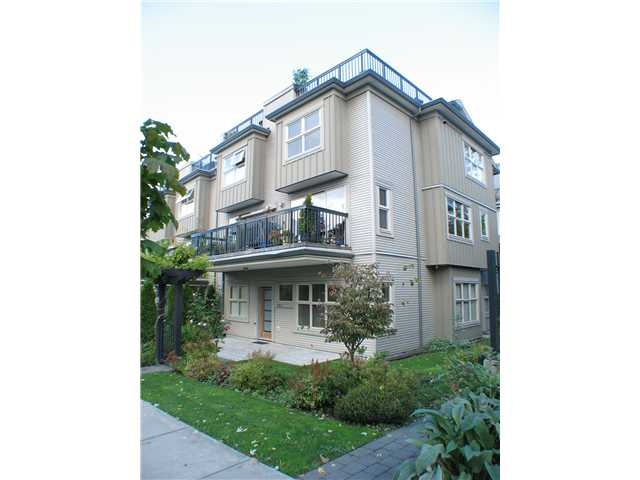 "Main Photo: 8 3855 PENDER Street in Burnaby: Willingdon Heights Townhouse for sale in ""ALTURA"" (Burnaby North)  : MLS® # V854630"