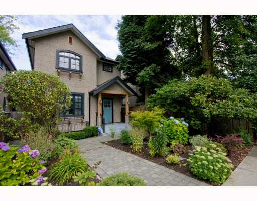 Main Photo: 2926 TRIMBLE Street in Vancouver: Point Grey House for sale (Vancouver West)  : MLS® # V782169