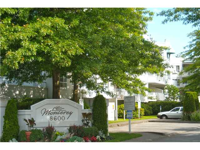"Main Photo: 313 8600 GENERAL CURRIE Road in Richmond: Brighouse South Condo for sale in ""MONTEREY"" : MLS®# V838792"