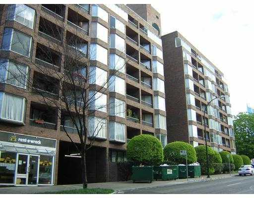 "Main Photo: 802 1333 HORNBY ST in Vancouver: Downtown VW Condo for sale in ""ANCHOR POINT"" (Vancouver West)  : MLS® # V588521"