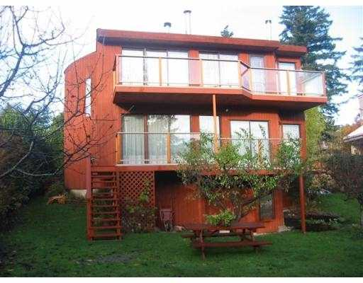"Main Photo: 1113 LENORA RD: Bowen Island House for sale in ""DEEP BAY"" : MLS® # V574191"