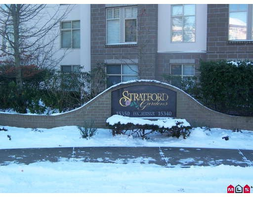 "Main Photo: 311 15340 19A Avenue in Surrey: King George Corridor Condo for sale in ""Stratford Gardens"" (South Surrey White Rock)  : MLS®# F2833765"