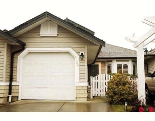 "Main Photo: 25 6488 168TH Street in Surrey: Cloverdale BC Townhouse for sale in ""TURNBERRY"" (Cloverdale)  : MLS® # F2910128"