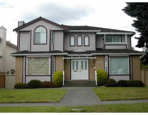 Main Photo: 2127 W 21ST Avenue in Vancouver: Arbutus House for sale (Vancouver West)  : MLS® # V772787