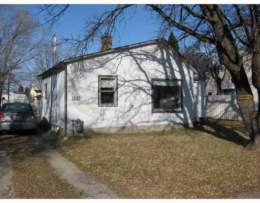 Main Photo: 1021 ROYSE Avenue in WINNIPEG: Manitoba Other Single Family Detached for sale : MLS® # 2920738
