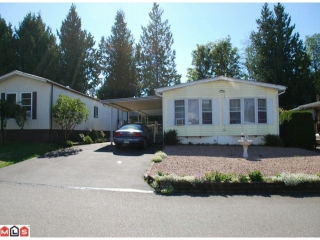 "Main Photo: 32 2315 198TH Street in Langley: Brookswood Langley Manufactured Home  in ""DEER CREEK ESTATES"" : MLS® # F1023869"