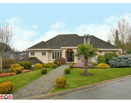 "Main Photo: 2936 145TH Street in Surrey: Elgin Chantrell House for sale in ""ELGIN"" (South Surrey White Rock)  : MLS®# F1003729"