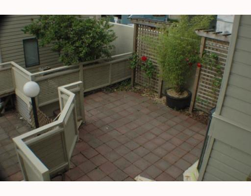 Photo 11: Photos: 5 1263 W 8TH Avenue in Vancouver: Fairview VW Townhouse for sale (Vancouver West)  : MLS(r) # V773393