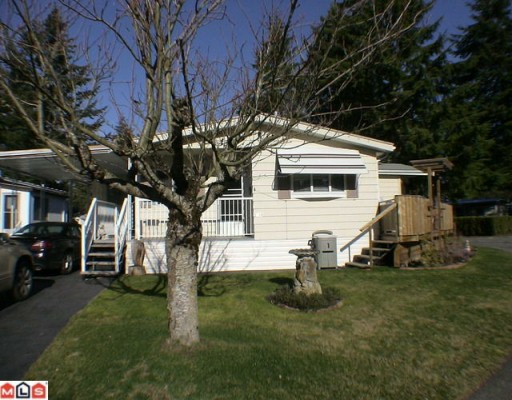 "Main Photo: 144 3665 244TH Street in Langley: Otter District Manufactured Home for sale in ""LANGLEY GROVE ESTATES"" : MLS® # F1003945"