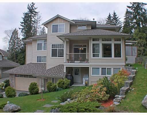 Main Photo: 8 MOSSOM CREEK Drive in Port_Moody: North Shore Pt Moody House 1/2 Duplex for sale (Port Moody)  : MLS® # V762195