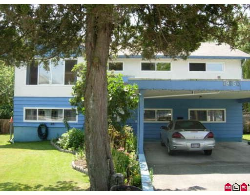 Main Photo: 19950 55A Avenue in Langley: Langley City House for sale : MLS® # F2913677