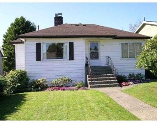 Main Photo: 722 BOWLER ST in New Westminster: West End NW House for sale : MLS® # V558237