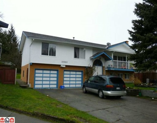 Main Photo: 10063 143A Street in Surrey: Whalley House for sale (North Surrey)  : MLS® # F1003718