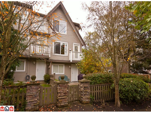 "Main Photo: 34 15355 26TH Avenue in Surrey: King George Corridor Townhouse for sale in ""South Wynd"" (South Surrey White Rock)  : MLS®# F1025838"
