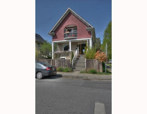 Main Photo: 2065 WILLIAM Street in Vancouver: Grandview VE House for sale (Vancouver East)  : MLS® # V764930