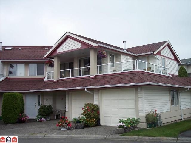 Main Photo: 61 31406 UPPER MACLURE Road in Abbotsford: Abbotsford West Townhouse for sale : MLS® # F1100048