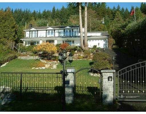 Main Photo: 1125 CRESTLINE Road in West Vancouver: British Properties House for sale : MLS® # V801827