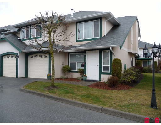 "Main Photo: 130 3160 TOWNLINE Road in Abbotsford: Abbotsford West Townhouse for sale in ""SOUTHPOINT RIDGE"" : MLS(r) # F2906113"