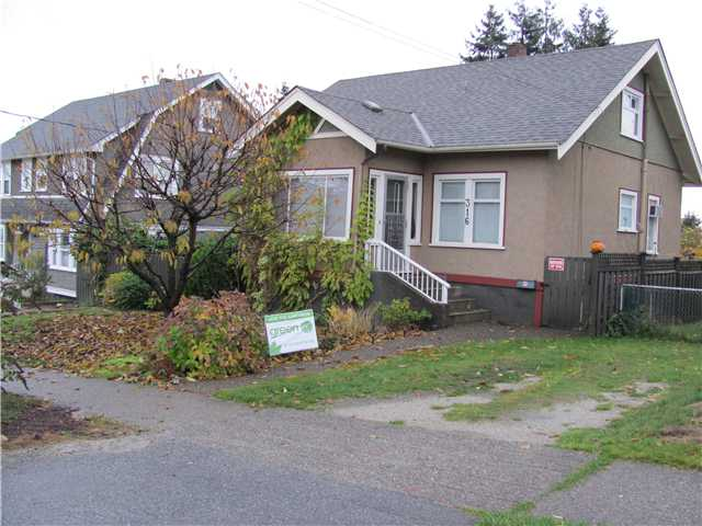Main Photo: 316 SIMPSON Street in New Westminster: Sapperton House for sale : MLS(r) # V860026