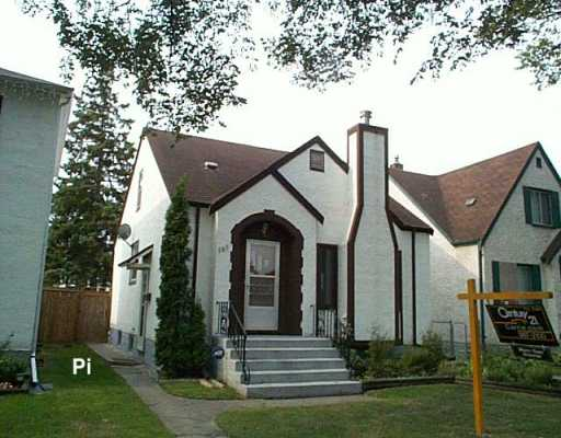 Main Photo: 586 LANSDOWNE Avenue in WINNIPEG: North End Single Family Detached for sale (North West Winnipeg)  : MLS(r) # 2614825