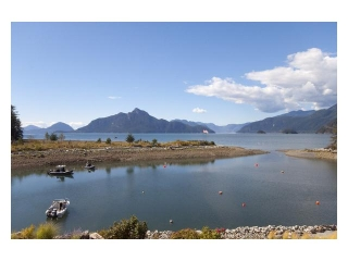 "Main Photo: 43 POINT Terrace in West Vancouver: Furry Creek Townhouse for sale in ""OLIVER'S LANDING"" : MLS® # V848517"