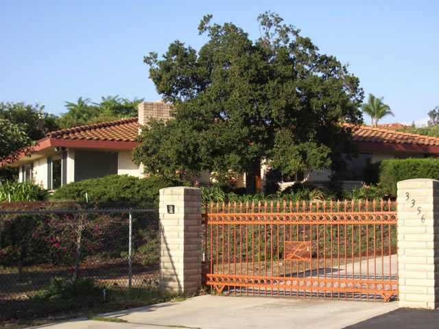 Main Photo: SOUTH ESCONDIDO Residential for sale : 2 bedrooms : 3356 Ryan Dr. in Escondido