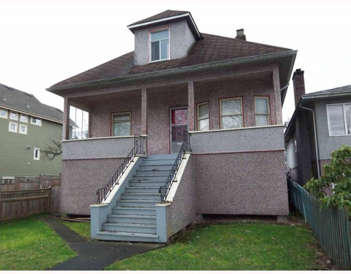 Main Photo: 2062 VENABLES Street in Vancouver: Grandview VE House for sale (Vancouver East)  : MLS® # V810114