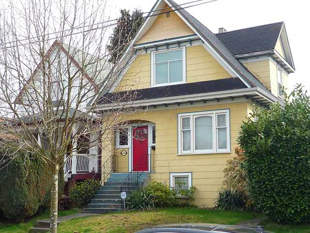 Main Photo: 4140 PRINCE ALBERT Street in Vancouver: Fraser VE House for sale (Vancouver East)  : MLS® # V829363