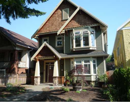 Main Photo: 287 E 24TH Avenue in Vancouver: Main House for sale (Vancouver East)  : MLS®# V779465