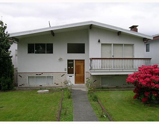 Main Photo: 2615 East 25TH Avenue, VANCOUVER: House for sale (Renfrew Heights)