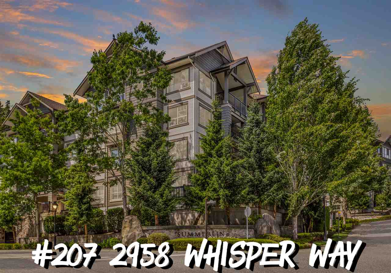 FEATURED LISTING: 207 - 2958 WHISPER Way Coquitlam