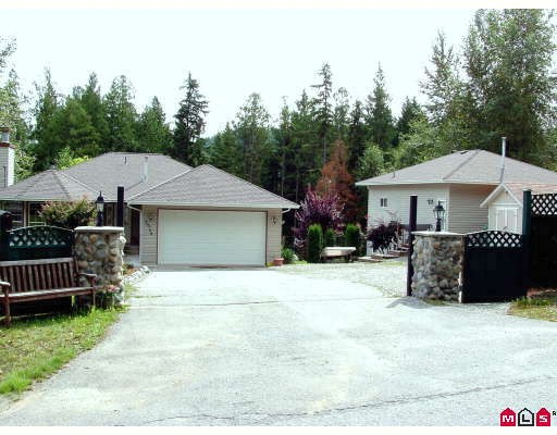 Main Photo: 29564 BERG Avenue in Mission: Stave Falls House for sale : MLS® # F2915220