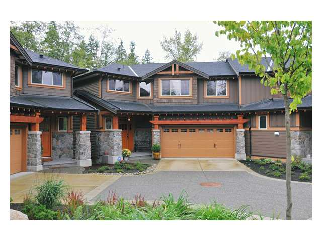 "Main Photo: 52 24185 106B Avenue in Maple Ridge: Albion Townhouse for sale in ""TRAILS EDGE"" : MLS® # V852572"