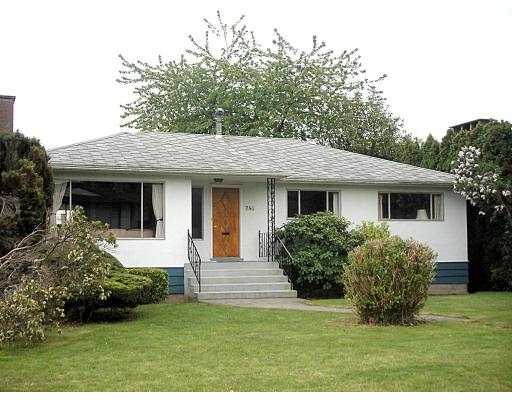 Main Photo: 744 W 53RD AV in Vancouver: South Cambie House for sale (Vancouver West)  : MLS® # V536816
