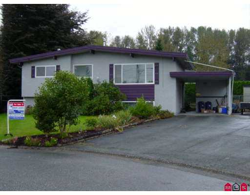 Main Photo: 10096 MANOR DR in Chilliwack: Fairfield Island House for sale : MLS® # H2503456