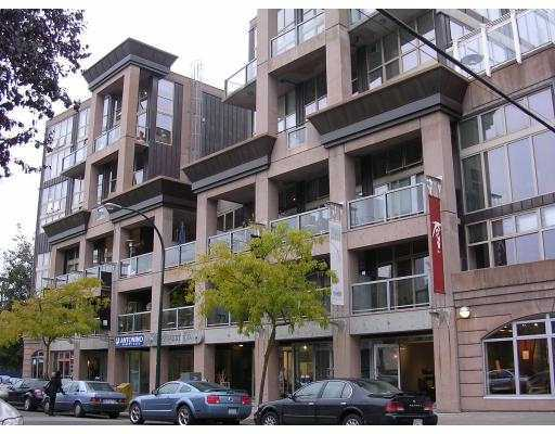 "Main Photo: 321 1529 W 6TH Avenue in Vancouver: False Creek Condo for sale in ""South Granville Lofts"" (Vancouver West)  : MLS® # V785813"