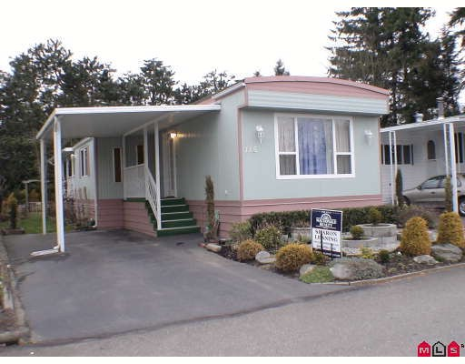 "Main Photo: 115 3665 244 Street in LANGLEY: Otter District Manufactured Home for sale in ""LANGLEY GROVE ESTATE"" (Langley)  : MLS® # F2904207"