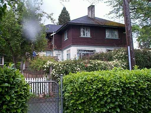 Main Photo: 2500 W 37TH AV in Vancouver: Kerrisdale House for sale (Vancouver West)  : MLS(r) # V588236