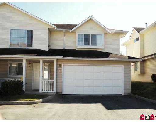 "Main Photo: 41 31255 UPPER MACLURE RD in Abbotsford: Abbotsford West Townhouse for sale in ""Country Lane Estates"" : MLS®# F2620159"