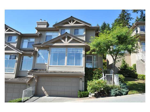 Main Photo: 11 2979 PANORAMA Drive in Coquitlam: Westwood Plateau Townhouse for sale : MLS® # V849714