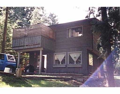 Main Photo: 590 COWAN RD: Bowen Island House for sale : MLS® # V570935
