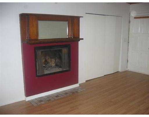 Fire place in master bedroom
