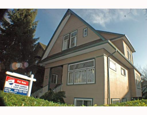 Main Photo: 1916 KITCHENER Street in Vancouver: Grandview VE House for sale (Vancouver East)  : MLS® # V747257