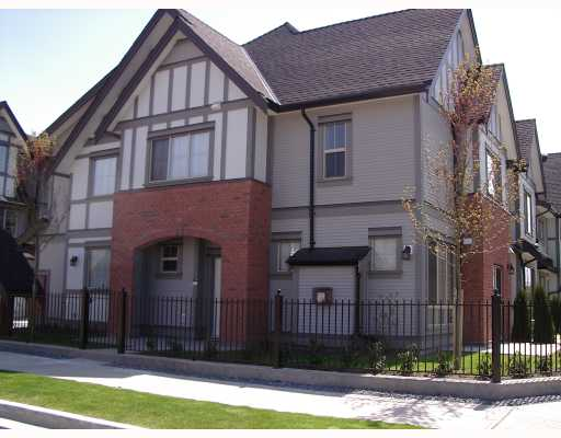 "Main Photo: 18 9688 KEEFER Avenue in Richmond: McLennan North Townhouse for sale in ""CHELSEA ESTATES"" : MLS® # V762062"