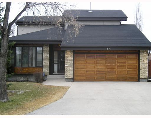 Main Photo: 57 BOISSELLE Bay in WINNIPEG: Windsor Park / Southdale / Island Lakes Single Family Detached for sale (South East Winnipeg)  : MLS(r) # 2906013